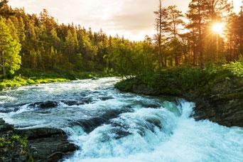 Vann og vær påvirker strømprisene
